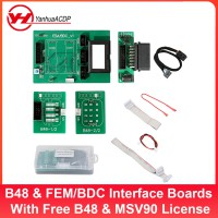 Yanhua Mini ACDP BMW B48 DME & FEM/BDC Integrated Interface Boards With Free B48 DME Software & MSV90 OBD Read ISN License