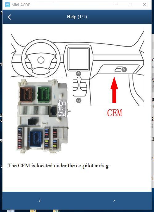 Yanhua Mini ACDP Module 12 for Volvo IMMO Programming