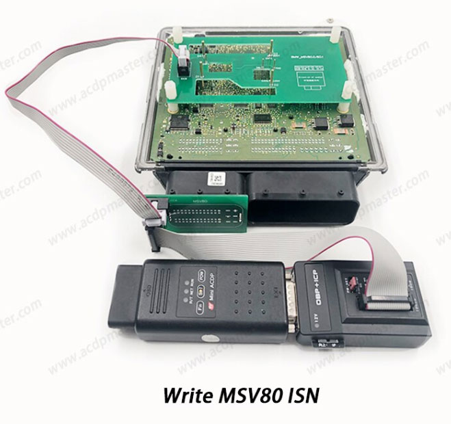 write msv80 isn