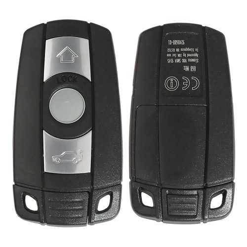 BMW CAS3 pure smart key 3 buttons 868MHZ (Keyless-entry) PCF7952