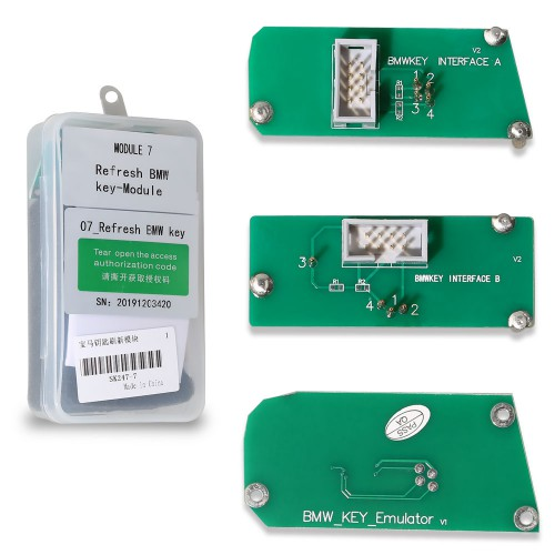 mini acdp refresh bmw key module