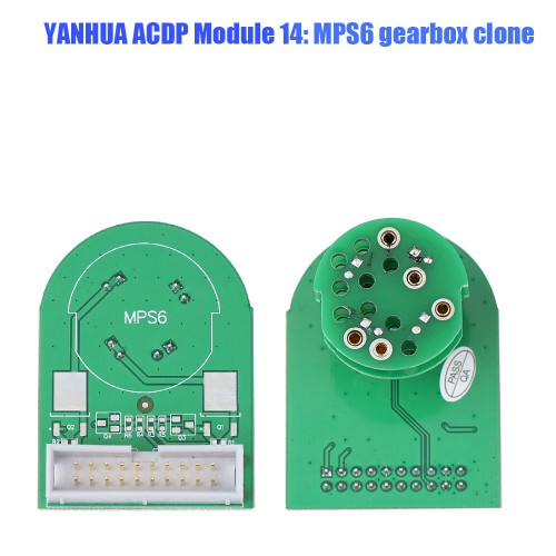 Yanhua ACDP Module 14 MPS6 Gearbox Clone for Volvo Land Rover Ford Chrysler Dodge with License A301