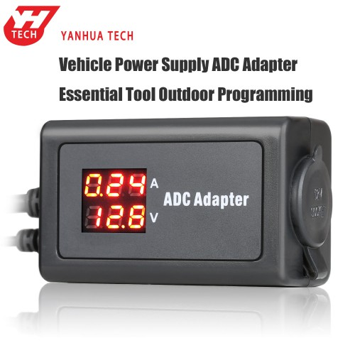 YANHUA Vehicle Power Supply ADC Adapter Essential Tool Outdoor Programming
