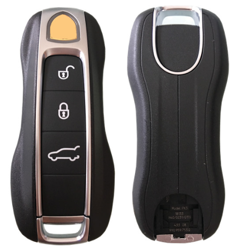 Original 3 Button Smart Key for Porsche Cayenne 434 MHz