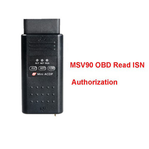msv90 obd license